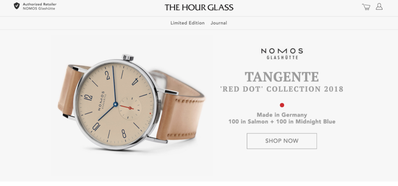 The Hour Glass Vue Storefront eCommerce