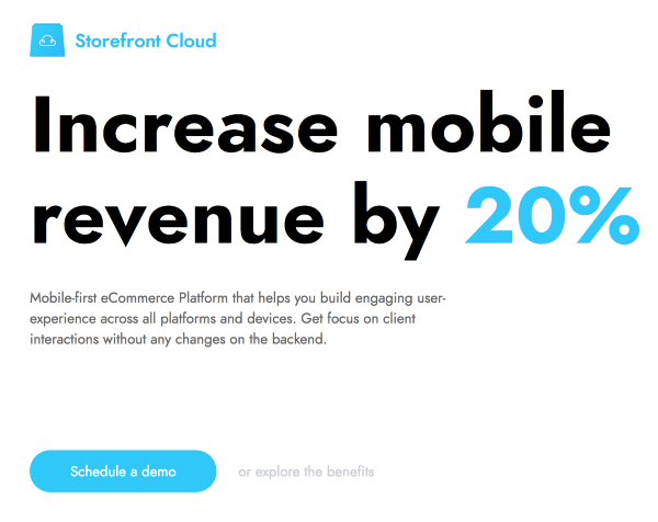 Increase mobile revenue by 20%