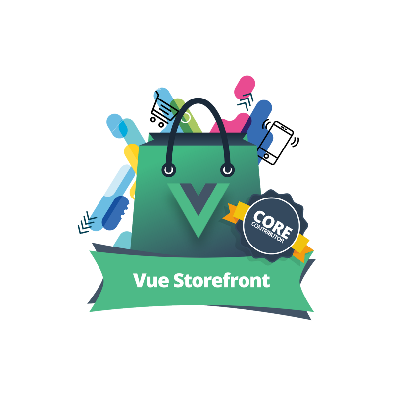 Vue Storefront nice graphic