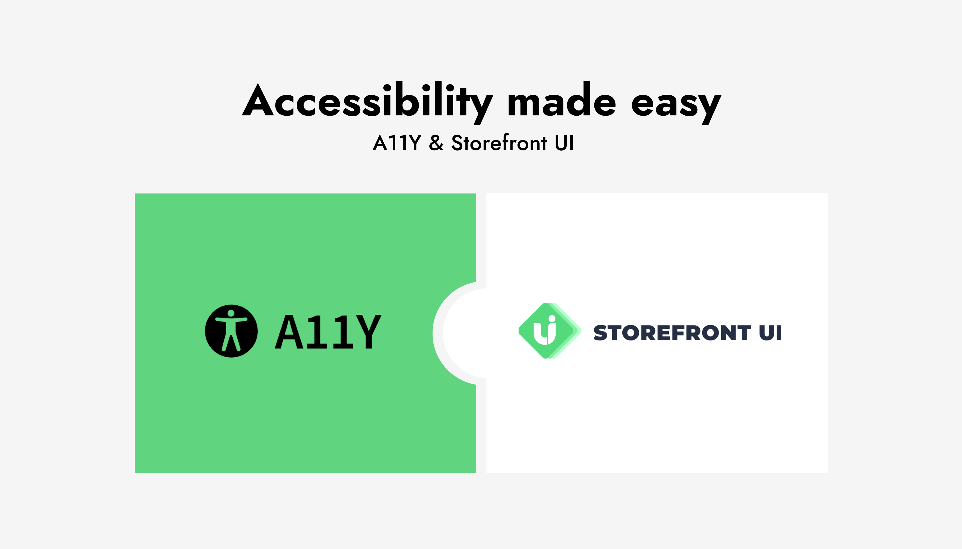 Accessibility at Storefront UI